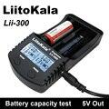 Liitokala Lii300 18650 Display LCD De teste da capacidade da Bateria carregador 5 V USB Para fora Para baterias NiMH e lítio
