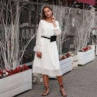 Белое платье с рюшами Цена 1222 руб. ($15.82) | 913 заказов Посмотреть