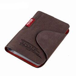 Kudian urso couro genuíno cartão de visita titular cartão de crédito capa sacos ferrolho cartão organizador sacos -- bih003 pm20