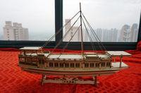 Wooden ship models kits china sail boat song dynasty yacht ancient ship model Free shipping
