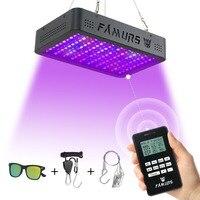Famurs led grow light 1000 Вт полный спектр Вег/Блум таймер группы дистанционное управление лампа для растений Крытый Фито лампы расти палатка