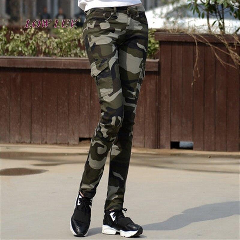 Pants Women Cotton Fashion Camouflage Women Pants Pencil Women Long Pants2017