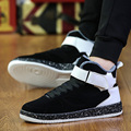 2017 Men High Top Shoes Winter Warm Mens Trainers Breathable Flats Walking Shoes zapatillas hombre tenis masculino shoes