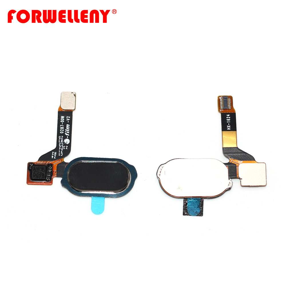 Tested For Oneplus3 Oneplus 3 / 3T Back Return Home Button Fingerprint Sensor Key Flex Cable Ribbon A3000 A3003 A3010