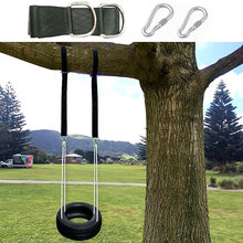 Tree Swing Hanging Kit Hammock Straps, 1800 lbs Load Capacity, Set of 2 Extra Long 10 ft Heavy Duty Swing Straps and 2 Safety