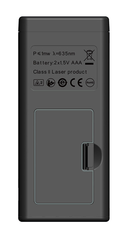 SNDWAY Laser Distance Meter 40-120M with LCD and Auto Power Off to Measure Wide Range Area 22