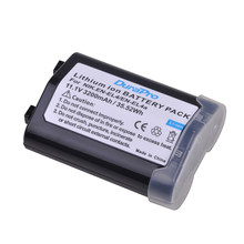 Akku-Batería de ion de litio recargable para cámaras Nikon D2H D2Hs D2X D2Xs D3 D3S F6 EN-EL4, EN-EL4a EN EL4 MH-21 ENEL4a, 1 unidad