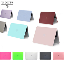 ФОТО ycjoyzw-laptop case for apple macbook air pro retina 11 12 13 15 for mac book new pro 13 15 inch with touch bar