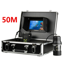 GAMWATER HD SONY CCD Underwater Fishing Camera 0-360 Degree View, Remote Control, 7 Inch LCD Monitor, 14x White Lights 20M 50M