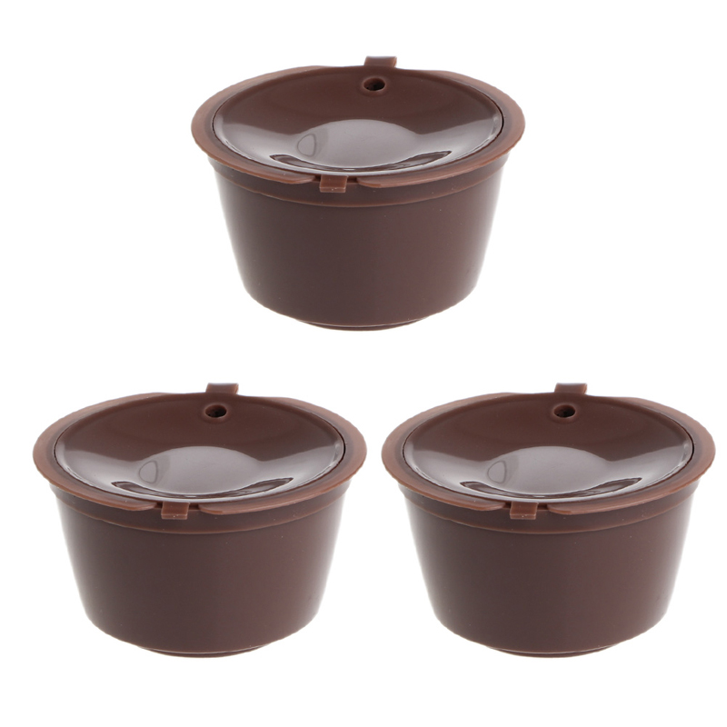refillable kcarafe k cup coffee dolce gusto capsule barware filter cup 3pcs