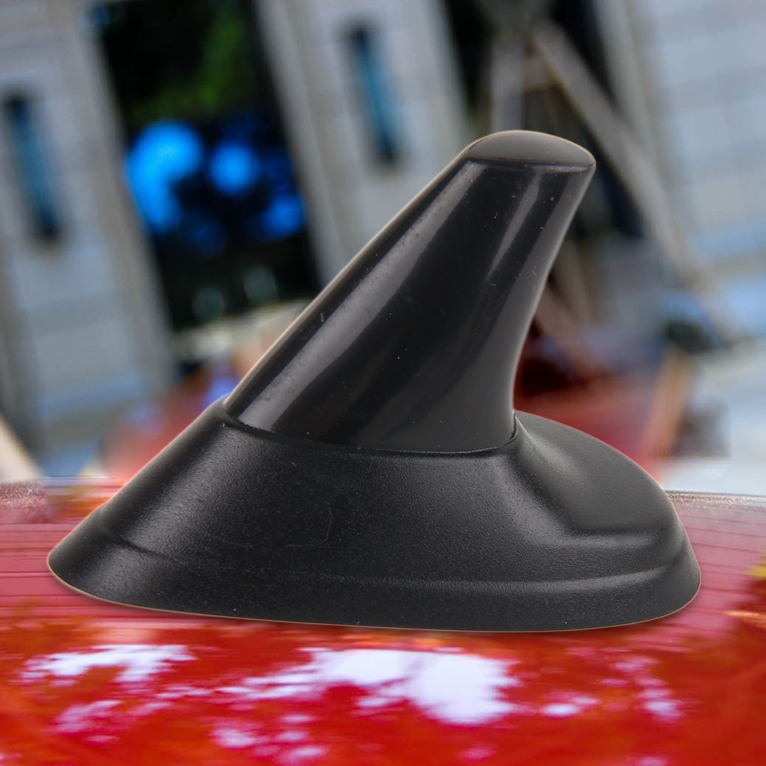 Beler Factice Aileron de Requin Style Noir Antenne pour SAAB 9-5 9-3 1999 2000 2001 2002 2003 2004 2005 2006 2007 Sport Aero Wagon