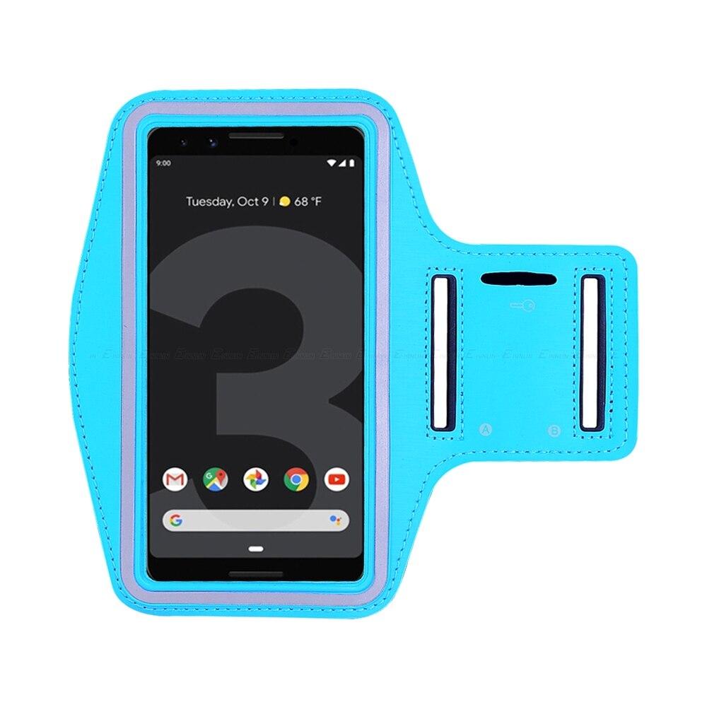 Waterproof Running Sport Gym Arm Band For Google Pixel 3 2 XL 3XL 2XL Nexus 6P 6 5X 5 4 Phone Holder Case Cover