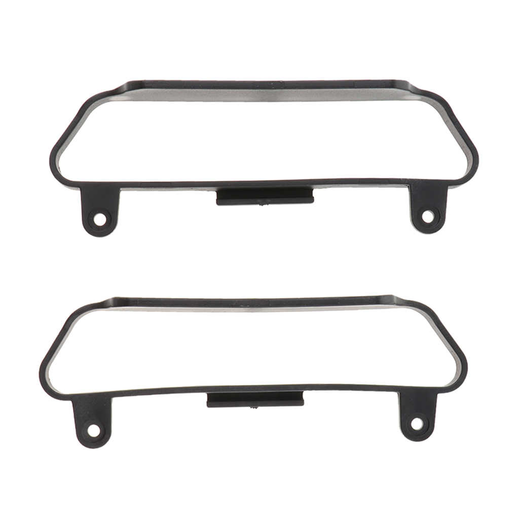 2Pc 1/10 RC Mobil Chassis Side Bar Side Step Slider untuk Traxxas Slash 4X4 HQ727 RC Crawler mobil
