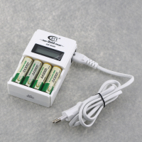 BTY 903 LCD Battery Display Smart Charger For Rechargeable AA AAA Batteries 4PCS 3000mAh 1 2V