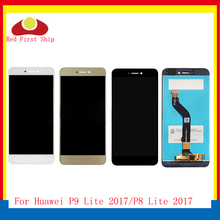 10Pcs/lot 5.2 For Huawei P9 Lite 2017 LCD Display Touch Screen Digitizer Assembly P8 Complete Repair Part