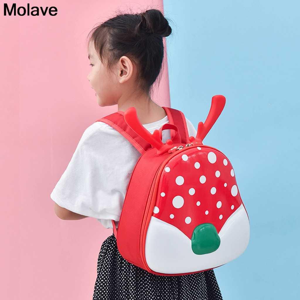 Plecak molave Christmas Fawn Antlers plecak dziecko dzieci chłopcy dziewczęta Cartoon School Bag piękny plecak dla dzieci 38. DEC.30