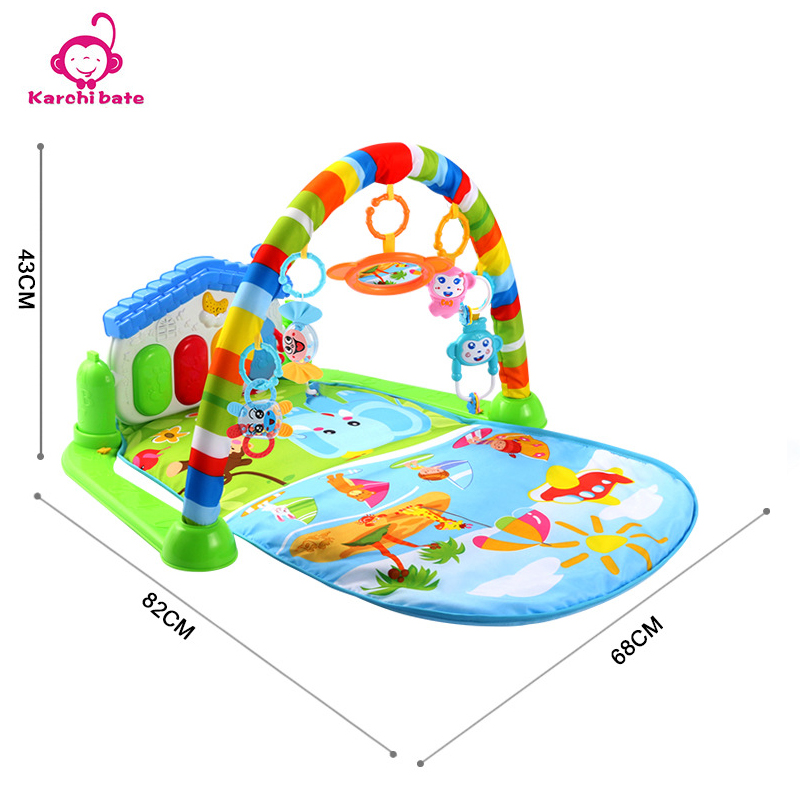 Aliexpress Buy Baby Kick Play Piano Gym Infant Musical