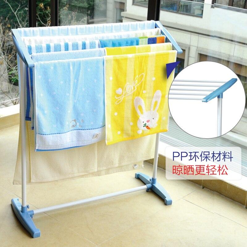 Bao Ni excelente suelo del balcón tendedero toalla toallero ...