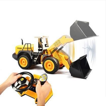 1/20 scale rc forklift truck electric rc bulldozer 4WD remote control construction trucks rc Forklift loader