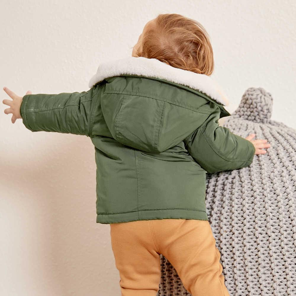 Balabala コートジャケット 3-24 M 長袖服キッズ冬暖かいピンクのコート outerwer 子供