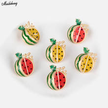 New Korea Fashion DIY Accessory Material Beads Backhole Watermelon Pearl Fresh Baitie Hair Decoration Jewelry