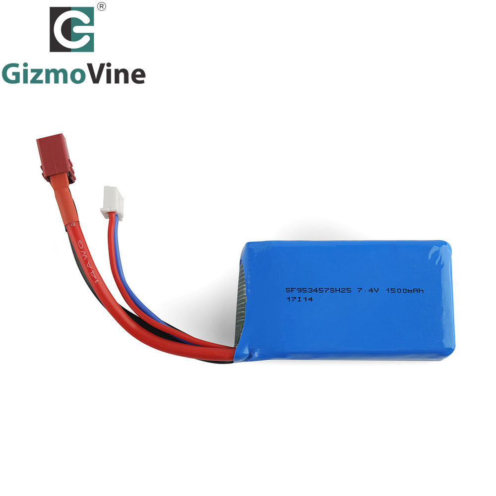 GizmoVine 1PCS/lot Battery RC cars Rc Lipo Battery RC Car Spare parts for 1/18 Scale A959 B A979 B RC Car Off Road Vehicle