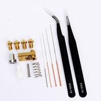 1 Set Nozzle Cleaning Needle Kit Drill Bit Tweezer Hotend Filament for Ultimaker2 3D Printer QJY99