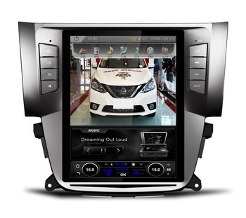 Allwinner T3 Vertical screen 2gb ram Quad Core Android 6.0 Car DVD player For Nissan Sylphy 2016 obd2 steering wheel control