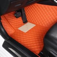 Custom car floor mats for Skoda All Model Octavia RS Fabia Superb Rapid Spaceback GreenLine Joyste car styling floor mat