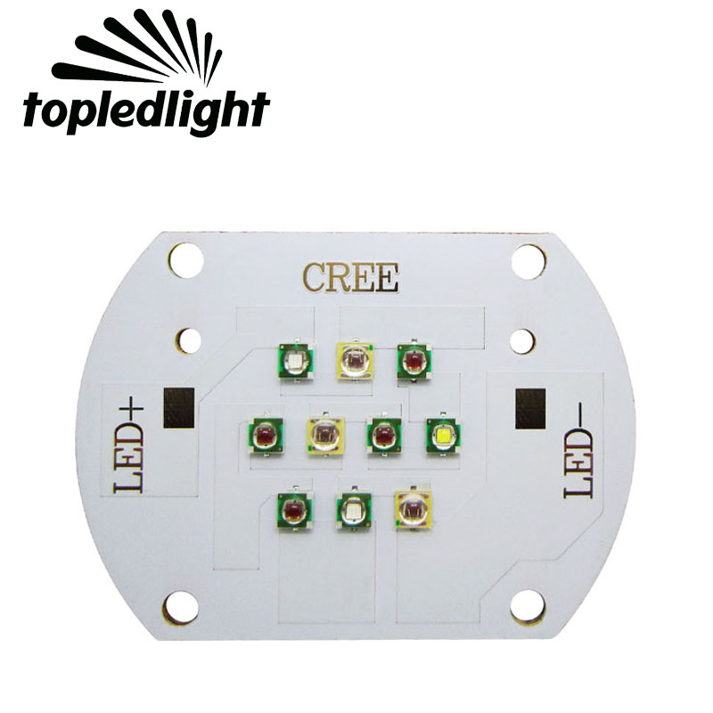 Topledlight 30W Cree XPE XP-E 450nm Royal Blue 470nm Blue 620nm Red 6000K White EPILEDS 660NM Red Plant Flower Growing LED Light термокружка ruges веда k 30 red