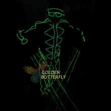 LED Clothing Laser Glove Luminous Suits Illuminated Glowing Dance Costumes Men EL Clothes Cold Strip Party With LED Clothes