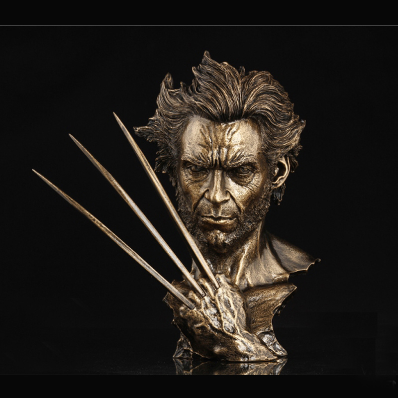 Hot 12 Super Hero X-men Wolverine Bust Mode With Stand Hugh Jackman Resin Statue Toy Dolls david jackman the compliance revolution