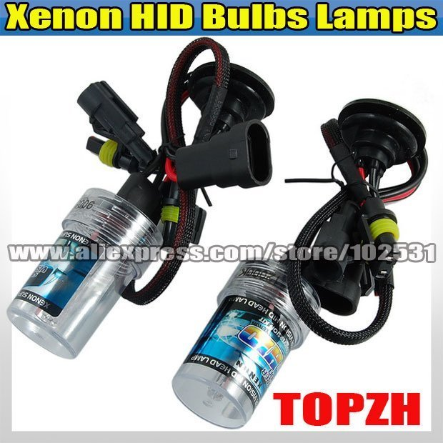 New Free Shipping 2 x Bulbs Headlight Lighting Lamps Car Xenon HID 881 12000K