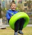 Indoor toy plastic colorful Tire Swing Baby puzzle color outdoor children swing