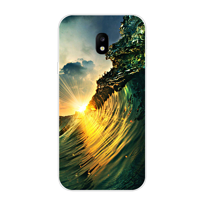 Image 2 - Case For Samsung Galaxy J3 2017 Case Silicone Coque for Samsung Galaxy J3 2017 Cover Funda for Samsung J3 2017 j330F hoesje Bag-in Fitted Cases from Cellphones & Telecommunications