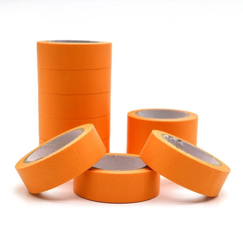 10m*15mm Refreshing Kawaii Candy Orange Color Washi Tape Pattern Masking Tape Decorative Scrapbooking DIY Office Adhesive Tape