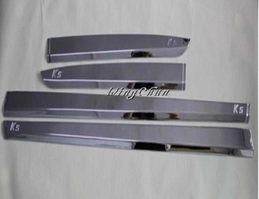 Accessoires Chrome corps porte côté garniture de protection 8 pièces pour Kia Optima K5 2011-2014
