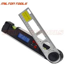 0-270degree 250 мм цифровой угол линейка Finder gauge многоцелевой цифровой транспортир уровень линейка Miltre Дух Уровень Инклинометр