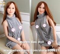Wmdoll 158 см Одежда высшего качества Полный Средства ухода за кожей силиконовые секс куклы японский dault кукла с влагалища реального киска аналь...