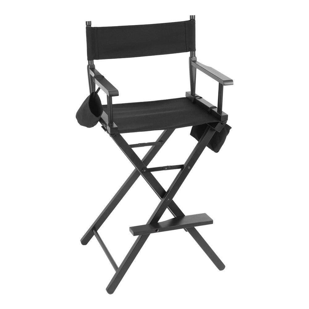 Professionnel Portable Directeur Camping Chaise De Maquillage Artiste Bois Pliable En Plein Air Meubles Dans Chaises Plage Sur