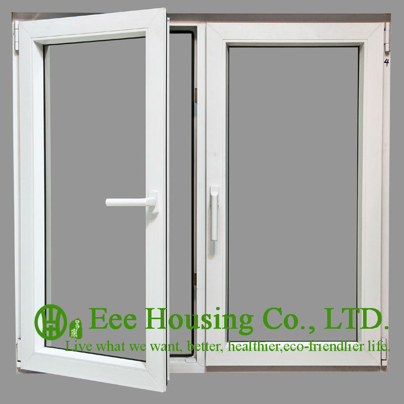 Soundproof Insulated Glass Aluminum Casement Windows For
