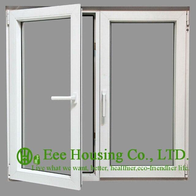 Verre Isolé Insonorisé Fenêtres à Battants En Aluminium Pour Chambre