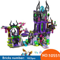 10551 Bouwsteen Compatibel met Elfen Laguna Dark Magic Castle 41180 Fairy Figuur Educatief Speelgoed voor Kinderen