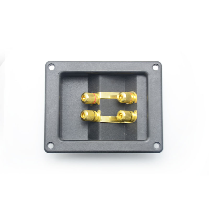 Speaker Acessories,Speaker parts for audio With gold plated Binding Post for speaker, Fast Free Shipping
