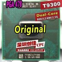 Oryginalny procesor intel laptop Core 2 Duo T9300 CPU 6 M Cache/2.5 GHz/800/Dual-Core Socket 479 Laptop procesor dla GM45 PM45
