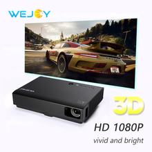 Купить с кэшбэком Wejoy DL-310 Laser Home Cinema 3D Projector Full HD 1080P Home Theater DLP Android Portable Proyector TV Data Show 4K Movies