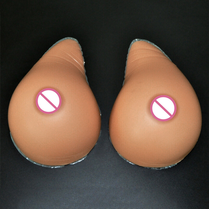 3600g/pair 10XL Size Silicone Breast Forms Mastectomy Prosthesis Fake Boobs Enhancement Fake Boobs False Breasts size7 90c 95b 100a light weight 315g pc fake mastectomy silicone fake breast forms silica gel sexy boobs for prosthesis