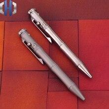 ไทเทเนียมยุทธวิธีปากกาฟังก์ชั่น Gyro EDC แบบพกพาหน้าต่างหักแบบพกพาชายหญิงของขวัญ