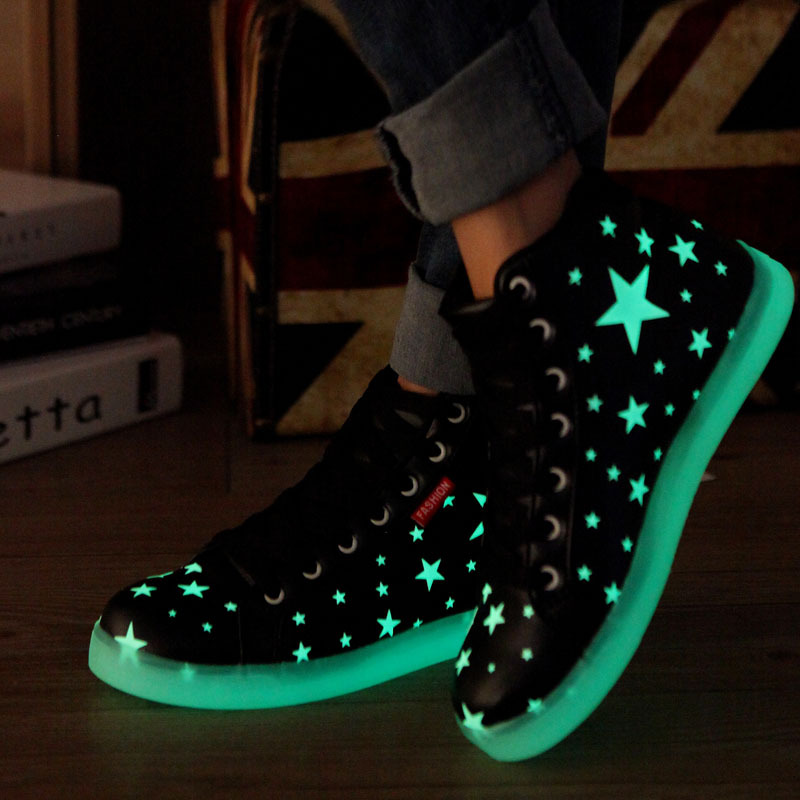 For Women Led Luminous And Sneakers