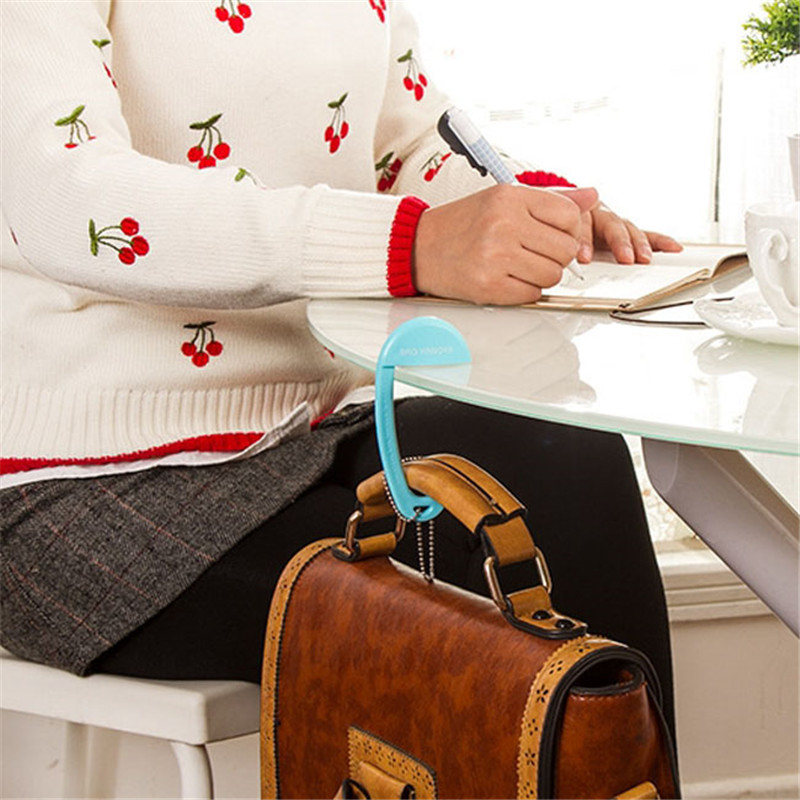 Intelligent Portable Exquisite Plastic Desk Chair Handbag Tote Hook Hanger Holder Pa872427 Various Styles Luggage & Bags